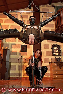 bloodangels blood angels punk femdom fetish