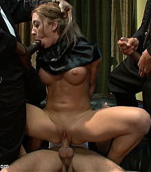 bound gangbangs rough bondage group sex scenarios