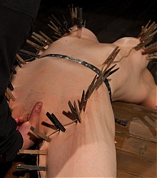 device bondage immobilized captive beauty