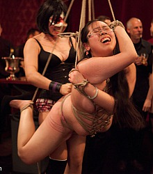 kinky decadent fetish play parties live sex slave servents