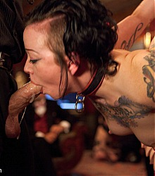 kinky decadent fetish play parties live sex slave servents