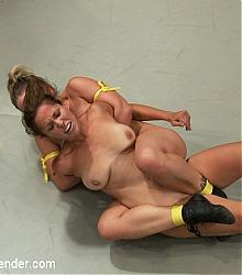 ultimate surrender kinky catfight ultimate kinky fighting female wrestling